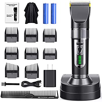Purkoo Professional Cordless Hair Clipper Set
