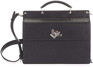 Fendi Luxury Fashion 7VA462SFRF0GXN - Maletín para hombre, color negro, color Negro, talla Einheitsgröße
