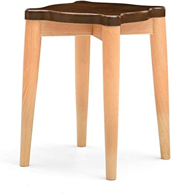 Super Amazon Com Wenjun Solid Wood Stool Stool Home Dining Table Ibusinesslaw Wood Chair Design Ideas Ibusinesslaworg