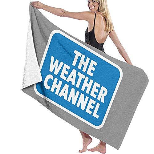 Abel Berth Toallas de baño Manta de Playa Toalla The Weather Channel Bebé Cama Grande y Suave Toalla de Playa Sábana Juego de baño Baño