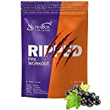 NUTRABOX RIPPED Pre Workout Gym Supplement to Boost Your Energy & Performance/Body Building