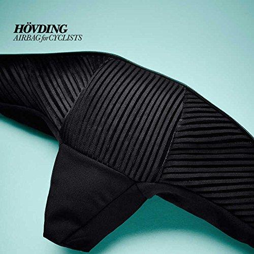 Hövding Airbag Helm Überzug 2.0, schwarz, M