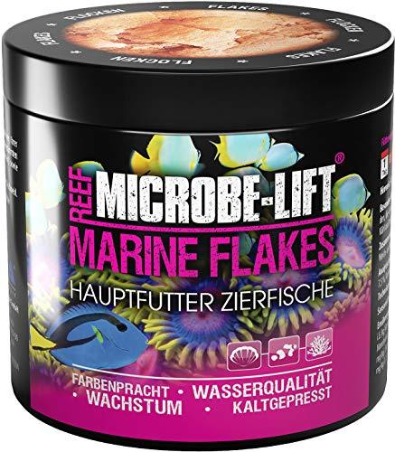 MICROBE-LIFT Marine Flakes - Alleinfutter für alle Fische in jedem Meerwasser Aquarium 250ml / 30g