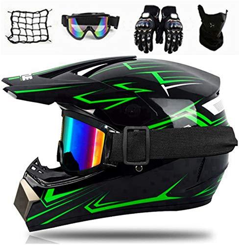 SYANO Jugend Kinder Dirt Bike Helme, Sturzhelm Schutzhelm, Enduro helme,Motocross Fahrradhelm Vier Jahreszeiten universal,für Downhill Bike ATV BMX (M)