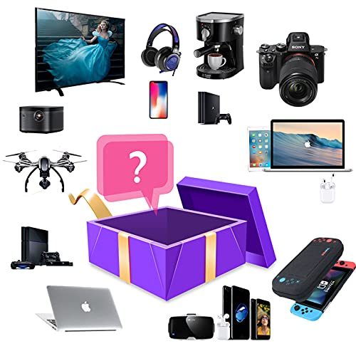 Mystery Box Electronics, Mystery Boxes Random, Birthday Surprise Box, Lucky Box para adultos, regalo sorpresa como drones y gamepads, la mejor opción para exigentes y aventureros