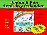 Spanish Fun Activity Calendar