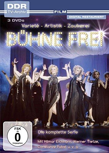 Bühne frei! (DDR TV-Archiv) [3 DVDs]