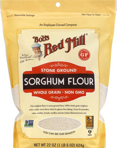 Bob's Red Mill Gluten Free Sweet White Sorghum Flour, 22 Oz