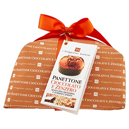 Il Viaggiator Goloso - Panettone Cioccolato e Zenzero, 750g