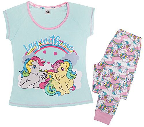 Lora Dora Damen Schlafanzug mit Charakteren Gr. Small, My Little Pony - Lay With Me