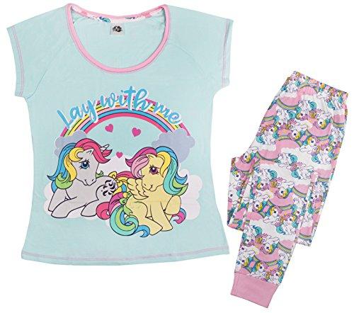 Lora Dora - Pijama para mujer Mi pequeño Pony - Quédate conmigo 36/38