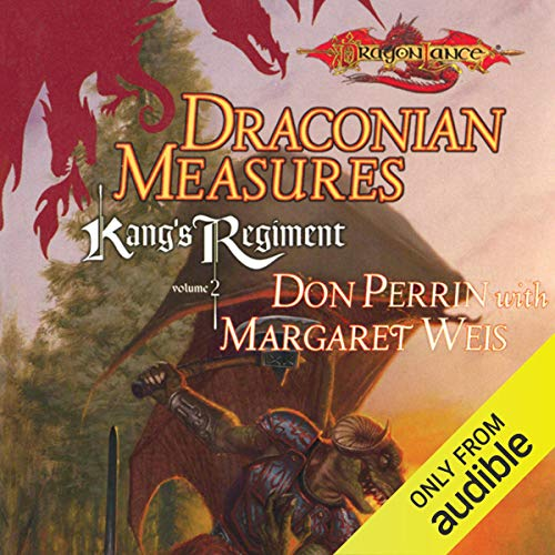 Draconian Measures Audiobook By Margaret Weis,                                                                                        Don Perrin cover art