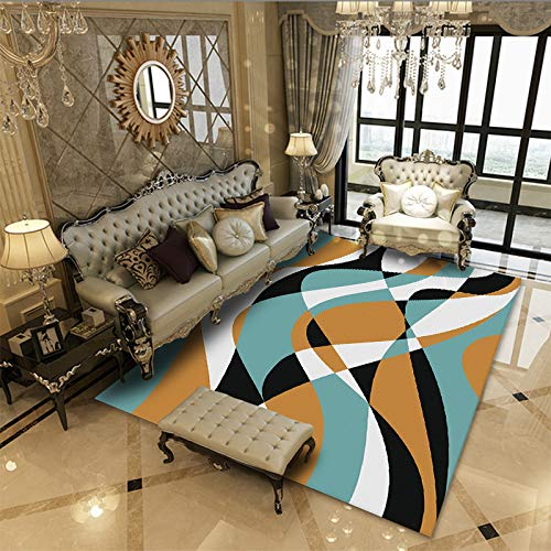 SunYe European-Style Living Room Thick Double-Layer Carpet, Non-Slip, Wear-Resistant, Office Floor Mat, Washable Pet Carpet, Can Be Used For Doormats, Bedroom Bedside Mats, Hallway Carpets