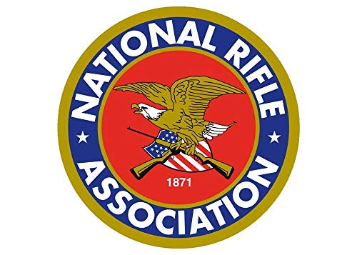 Tiukiu NRA National Rifle Association Sticker Car Truck Window Decal 4 Inch In Width