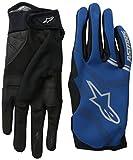 Alpinestars Stratus Gants Homme Bleu Foncé/Argent FR : L (Taille Fabricant : L)