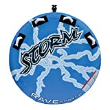 RAVE Sports Storm Boat Towable Tube for 1-2 Riders, Blue,...