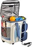 Xcase Kühltasche mit Rollen: Thermoelektrische Kühltasche mit Trolley-Funktion, 40 Liter, 12 Volt (Kühltrolley)