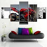 5 Stück Leinwandbilder Wohnkultur Modulare HD-Drucke