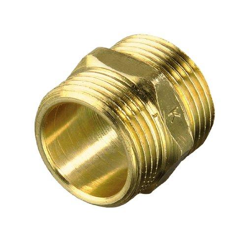 Xavax verbindingsstuk, messing, voor was- en vaatwasser-toevoerslangen, toevoerslangverbinder