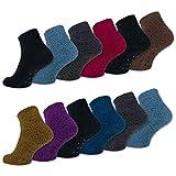 sockenkauf24 - Chaussettes anti-dérapantes - Femme -  multicolore -