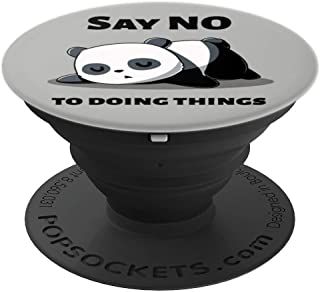 Funny Sleeping Panda Bear for Sleepy or Nap Time PopSockets Grip and Stand for Phones and Tablets