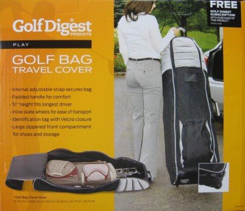 Golf Digest Golf Bag Travel Cover by Golf Digest