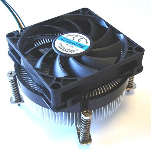 Small 3P + Large 4P Dual Interface//Water Cooling Exhaust//Shock Absorber Pad//Gift 4 Screws Jinnuotong01 CPU Cooler Color : Black The Appearance is Beautiful. Computer Chassis Fan