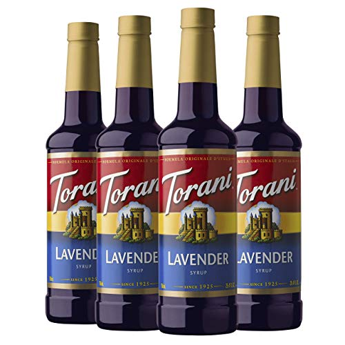 Torani Syrup, Lavender, 25.4 Ounces (Pack of 4)