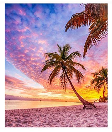 penbiubiu DIY Diamond Painting strand kokosnoot, kunsthars, lijm voor binnendecoratie, muurschildering, decoratie