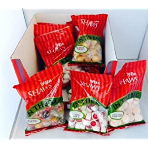 10 bags of wj shaws in the bag sweets from the traditional range - in a branded box - mini hamper 10 Bags of WJ Shaws In The Bag Sweets from the traditional range – in a branded box – mini hamper 51RUaQN 0OL