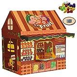 Tienda de campaña para Juegos para niños Tiendas de campaña para decoración de Habitaciones Tienda para Juegos para niños Castillo para niños al Aire Libre Decoración navideña para interiore