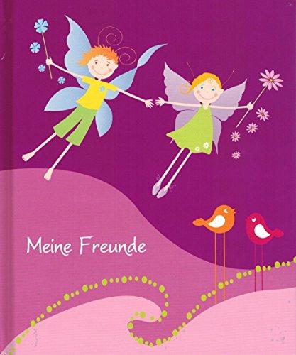 Feen - Freundebuch (mit Geburtstagskalender) Einschreibebuch - Poesiealbum