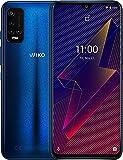 "WIKO Power U20 - Smartphone 4G de 6,8"" (6000 mAh de batería para autonomía de 4 días, Dual SIM, 64GB ROM, 3GB RAM, Octa Core 2,3GHz, Triple cámara de 13MP, Android 11) Navy Blue"