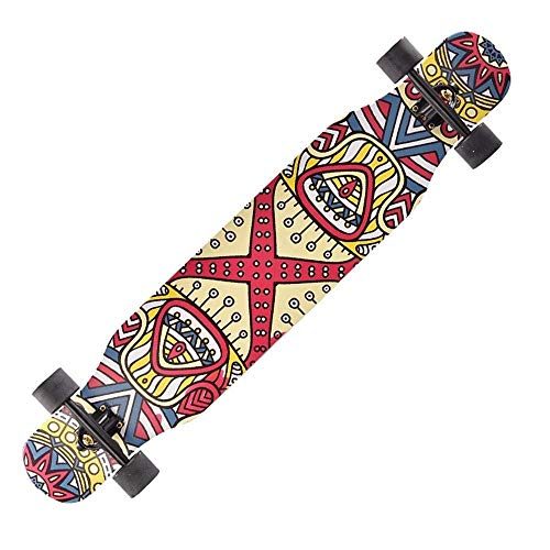 Buy QiYue Longborads Skateboards 46 Inches Complete Drop Down Through Deck Cruise Professional Longb...