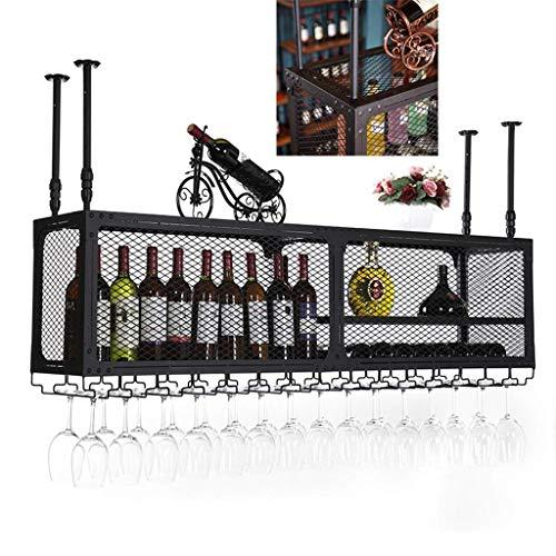 HLL Estanterías de Vino, Organizar Estanterías de Vino de Cocina, Estantería de Vino, Soportes de Vino de Vino, Raza de Cristal de Vino, Estante de Cristal de Vino, Estante de Vidrio de Champán, Sopo