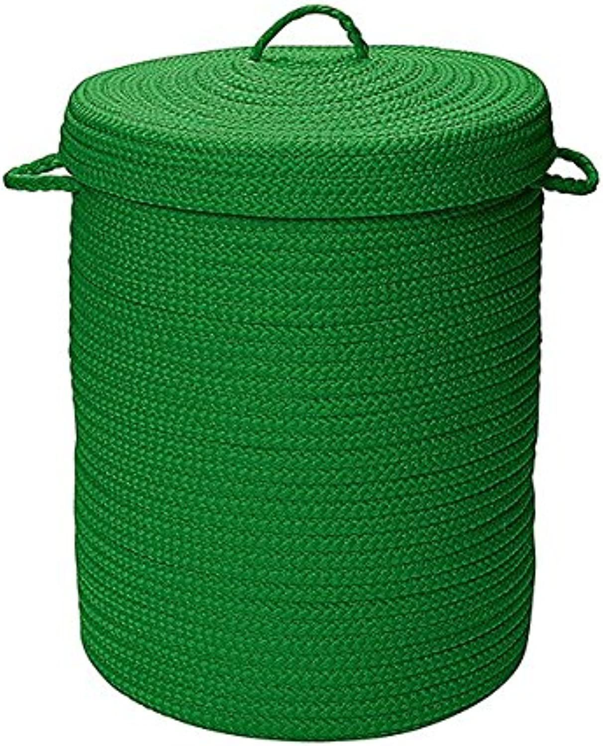 Colonial Mills H910A018X030 Simply Home Solid Storage Hamper with Lid, X-Large, Leaf Green
