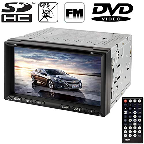 6.95 inch Touch Screen HD Car Stereo USB TF Card Bluetooth GPS Remote Control