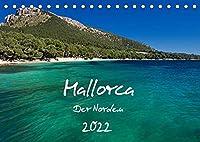 Mallorca - Der Norden (Tischkalender 2022 DIN A5 quer): Malerische Buchten, zauberhafte Landschaften, bizarre Felskuesten und weitere Impressionen festgehalten in dreizehn beeindruckenden Fotografien. (Monatskalender, 14 Seiten )
