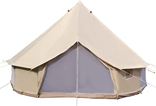 Dream House Waterproof Luxury Four Seasons Family Camping Bell Tent Safari Tourist Tent