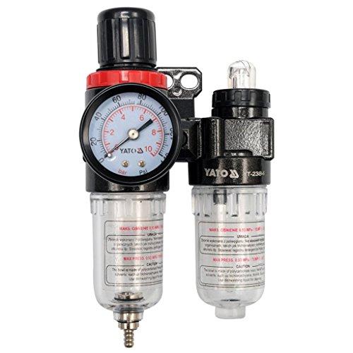 """Preisvergleich Produktbild 'YATO yt-2384-régulateur D 'Air mit mit und Filter 1 / 4 """"(F) x 1 / 4 (F) Flug 25 cm3 des Filter"""