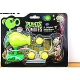 nuevo Nuevo juego popular Plants vs Zombies Peashooter PVC Figura de acción Modelo Juguetes Plants Vs Zombies Juguetes para regalo de bebé