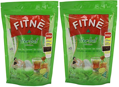 30 Teabags Fitne Herbal Infusion with Green Tea
