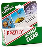 Epoxy Glue - Clear 2 Part Glass, Plastic, Jewelry, Ceramic, Metal, Stone and Porcelain Adhesive Repair Kit by Pratley