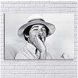 sjkkad Junge Barack Obama Poster Vintage Rauchen Obama