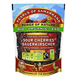 Sun-dried or solar dried cherries Contain antioxidant substances Helps to improve the sight, inhibit inflammation and protect the vessels Contains Vitamin A, B1, B2 and E, as well as considerable amounts of potassium and folic acid 100 Percent natura...