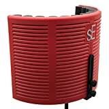 sE Electronics RF-X Reflexion X Portable Acoustic Treatment Filter, Red