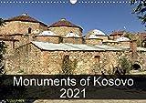 Monuments of Kosovo 2021 (Wall Calendar 2021 DIN A3 Landscape)