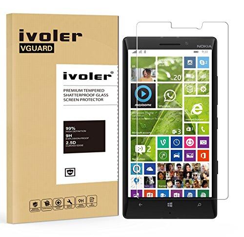 iVoler Pellicola Vetro Temperato per Nokia Lumia 930, Pellicola Protettiva, Protezione per Schermo