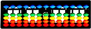 Abacus 13 Rod Multicolor Kit Japanese Soroban Calculator for Visual Math Aid Learning