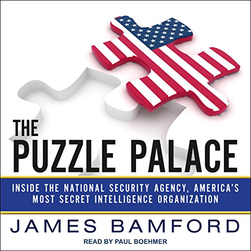 The Puzzle Palace audiobook cover art